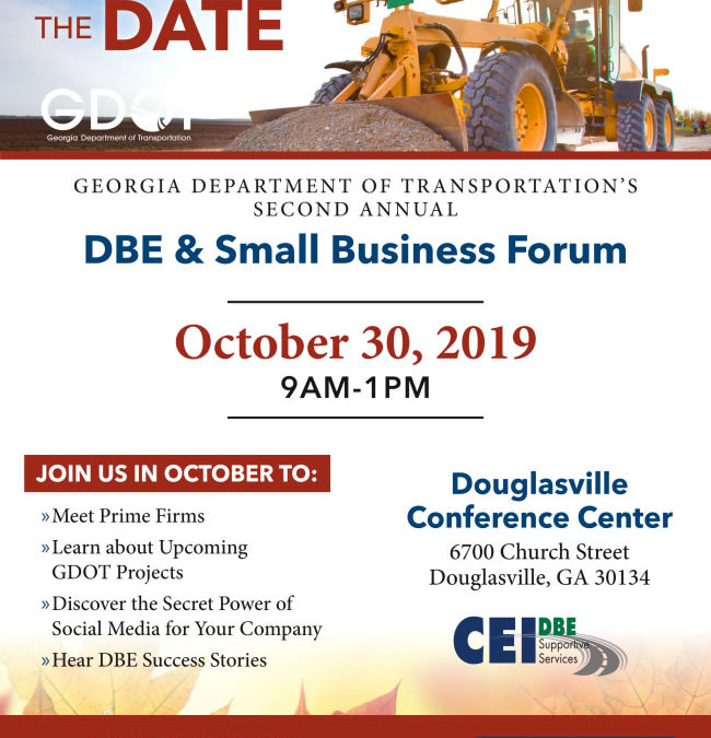 DBE & Small Business Forum