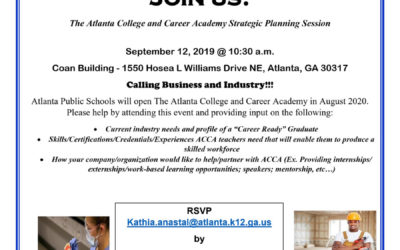 The Atlanta College and Career Academy Strategic Planning Session